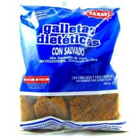 Galletas con salvado Sanavi