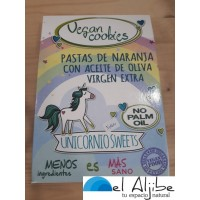 Galletas de naranja Vegan Cookies El Beato